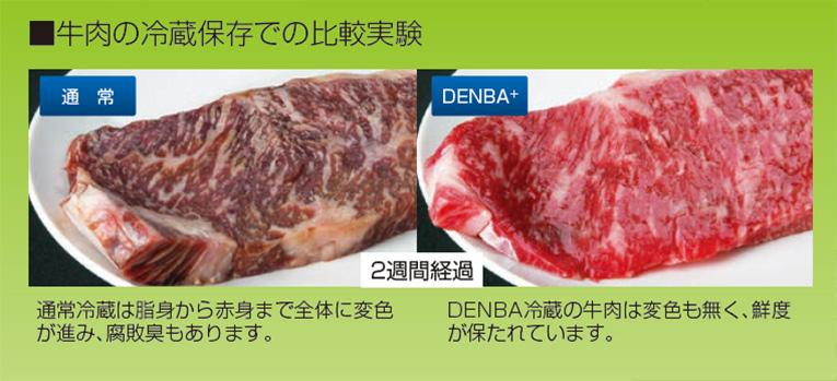 牛肉の冷蔵実験画像